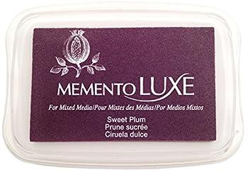 Tsukineko Memento Luxe Mixed Media Ink Pad - Sweet Plum 0