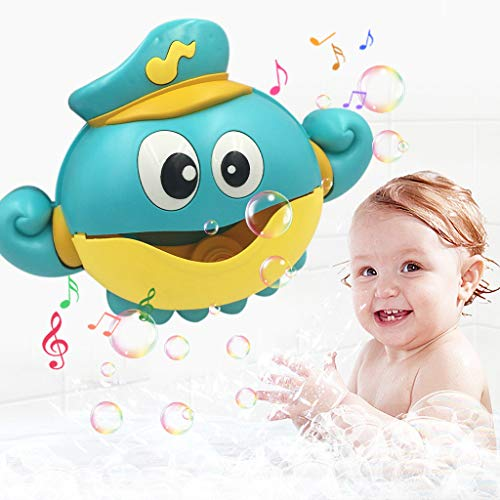 CUEYU Baby Bath Bubble Machine mit 12