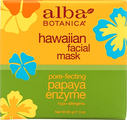 Alba Botanica Hawaiian, Papaya Enzyme Facial Mask,...