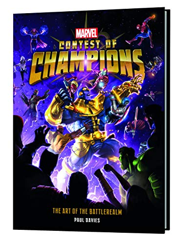 Marvel Contest of Champions: The Art of the Battlerealm par Paul Davies