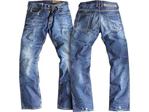 Rokker Jeans Rebel Kurz incl T-Shirt, W38/L32