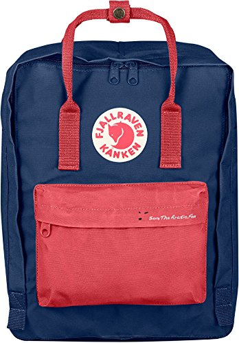 Fjällräven Save the Arctic Fox Kånken - Mochila - rosa/azul 2018