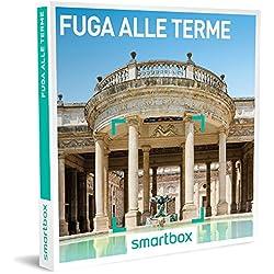 smartbox - Cofanetto Regalo - Fuga alle Terme - 20 soggiorni Benessere a Scelta in Hotel 3* o 4*