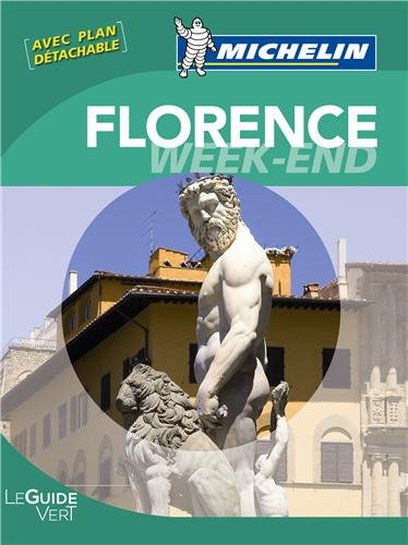 Guide Vert Week-end Florence par Collectif Michelin
