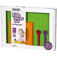 Pusher Kids Gift Box Arancio Set Piatti