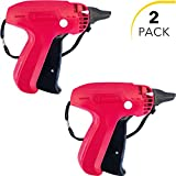 Clothes Tagging Gun Set (2 Pack) by desired tools: Handheld Security and Pricing Label Tag Applicator for Boutiques, Family Yard Sales, Flea Markets & Warehouses - Standard Fastener Attachmen