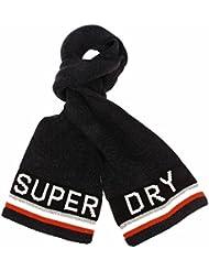 Superdry Super G Logo Herren Schal Grau
