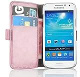 Cover Galaxy S4 Mini, JAMMYLIZARD [Luxury Wallet] Custodia a Libro Portafogli in Pelle per Samsung Galaxy S4 Mini, ROSA