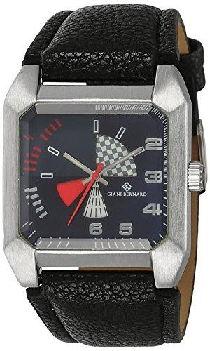 Giani Bernard Analog Blue Dial Men's Watch - GBM-03G image
