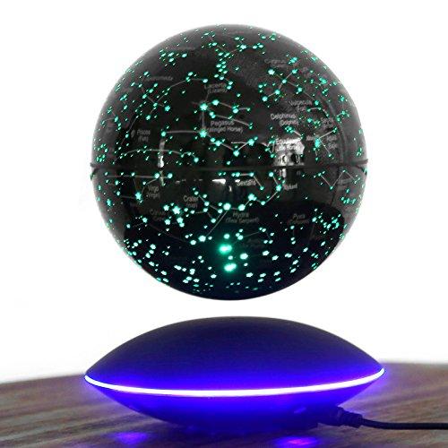 Creative 15,2cm Magnetic Levitation Glowing Rotation earth-instrument (Dekorationen Outdoor Valentine)