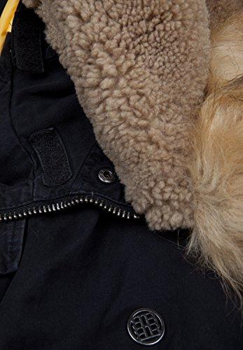 Blonde No.8 - Blouson - Doudoune - Uni - Manches Longues - Homme Noir