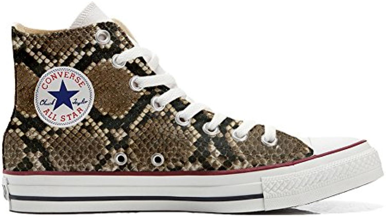 Shoes Custom Converse All Star  personalisierte Schuhe (Handwerk Produkt) pitonate