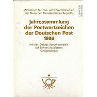 DDR 1986 Jahressammlung Faltblätter con Primo giorno di emissione (Francobolli ) - 1986 Prima Emissione