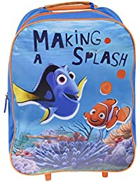 31ee19e03fd Kids Finding Nemo Trolley Bag Wheels Luggage Suitcase Holiday Weekend Case