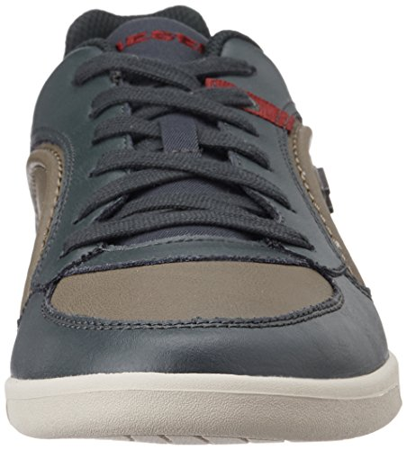 Diesel Chaussures Sneaker Hommes Cuir Lacets Eastcop Starch Dusty Green green