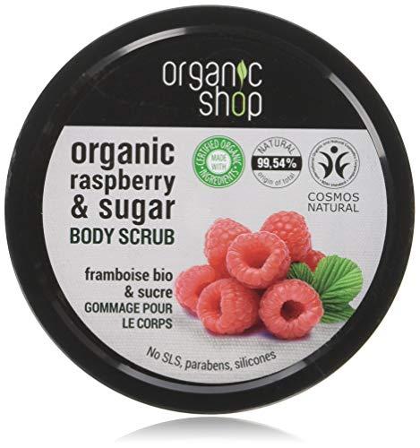 Organic Shop Crema Frambuesa Exfoliante Corporal -