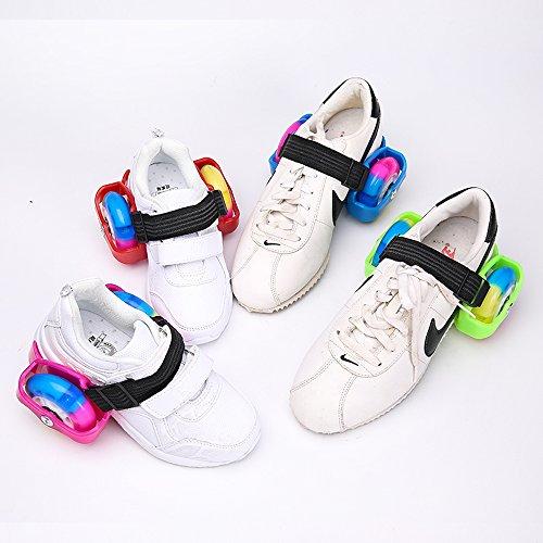 U.Buy , Chaussures de skateboard pour garçon Green