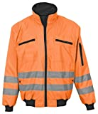 Markenprodukt 9307–0Reflektorjacke, orange Größe M