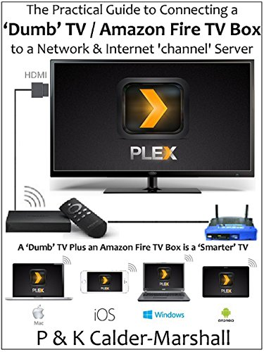 The Practical Guide to Connecting a 'Dumb' TV / Amazon Fire TV Box to a Network & Internet 'channel' Server (English Edition) -