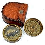 Nautisches World American Boy Scout Taschenkompass Messing antik Kompass Sammlerstücke