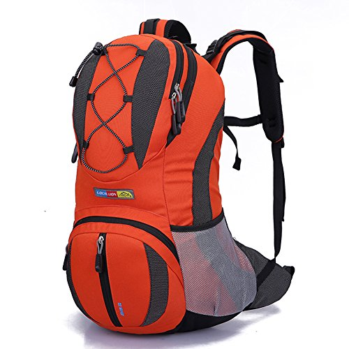 Diamond Candy Zaino da Trekking Outdoor Donna e Uomo con Protezione Impermeabile per alpinismo arrampicata equitazione ad Alta Capacitš€ borsa da viaggio,Multifunzione,22 litri Arancione