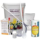 Balliihoo® Basic Homebrew Starter Equipment Kit With 40 Pint Pilsner Lager & 1Kg