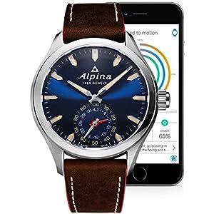 Alpina Geneve Horological Smartwatch AL-285NS5AQ6 Reloj de Pulsera para hombres null