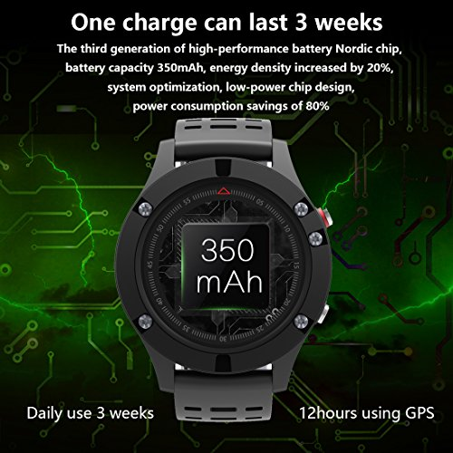 511e8NRl6jL. SS500  - Smart watch,Sports Watch with Altimeter/ Barometer/Thermometer and Built-in GPS , Fitness Tracker for Running,Hiking and Climbing ,IP67 Waterproof Heart Rate Monitor for Men, Women and Adventurer.