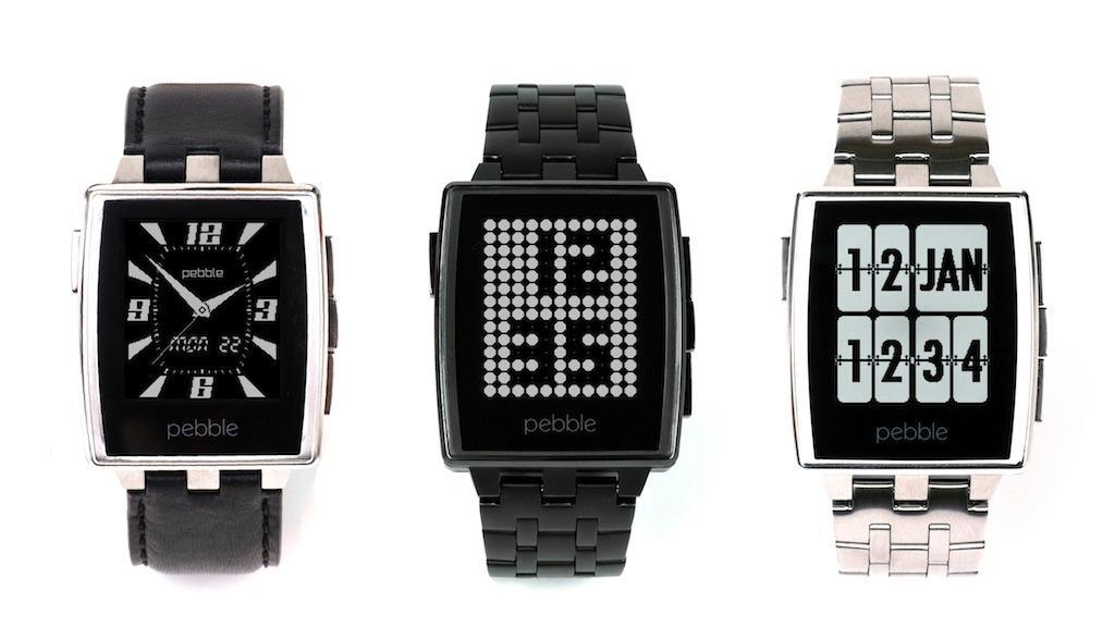 Pebble steel smartwatch matte black electronics for Pebble watches