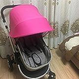 Baby parasole copri passeggino universale passeggino passeggino parapioggia Buggy throw over con tettuccio parapioggia per passeggino impermeabile vento Baby cart cover zanzariera parasole Protector