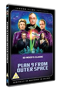 Plan 9 From Outer Space (Digitally remastered in colour) [DVD] [1959]