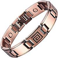 Magnetische Kupfer Armband mit Magneten - Modell Zyrkus vintage preisvergleich bei billige-tabletten.eu