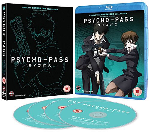 Psycho-Pass - Complete Series One Collection Blu-Ray [Edizione: Regno Unito] [Import italien]