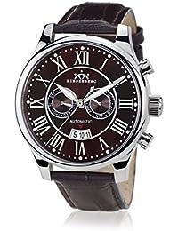 Hindenberg 790166 - Reloj para hombres, correa de cuero color marrón