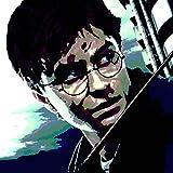 FRATTA Harry Potter–Bild Moderne Handbemalt–Pop Art Effect formato 30 x 30 cm