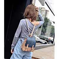 KPHY Color Bag Shoulder Bag Women S Casual All-Match With Mini Backpack Travel Bag SmallD