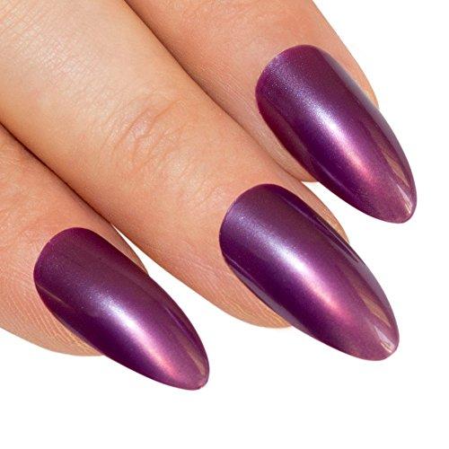 bling-art-stilett-falsche-nagel-acryl-pflaumen-lila-full-cover-medium-tipps