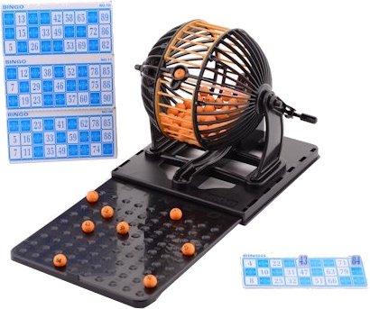 Johntoy Société-Jeu Bingo avec 90 Numéros, 25025