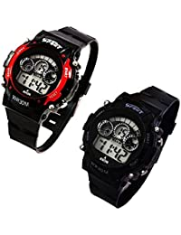 Capture Fashion Multicolored Digital Watch for Kids - Set of 2