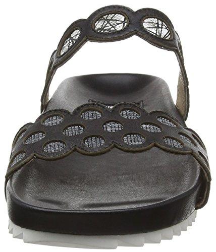 Giudecca 031-A, Damen Pantoffeln, Schwarz (Black+Black Insole), 37 EU