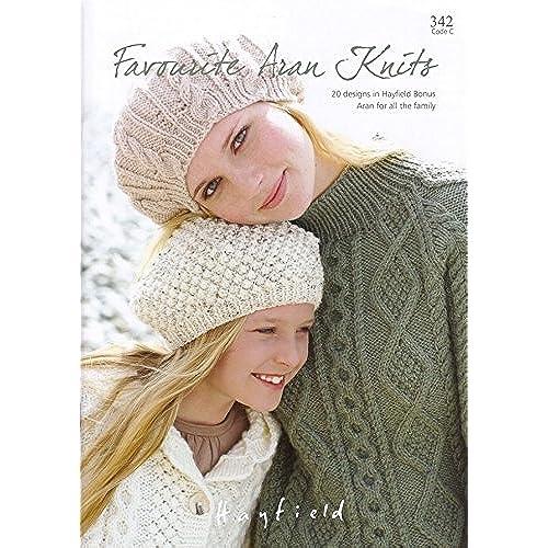 Aran Sweater Knitting Patterns: Amazon.co.uk