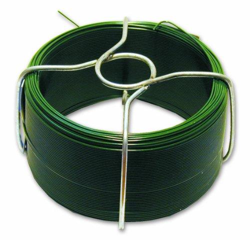 Filpack FGV14 Fil acier plastifie Diamètre extérieur 1,4 mm L 30 m Vert