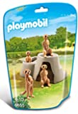 Playmobil 6655 City Life Zoo Meerkats