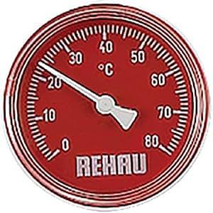Thermomètre rouge pour collecteur plancher chauffant 220580-001