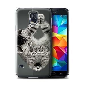 Coque de Stuff4 / Coque pour Samsung Galaxy S5/SV / Miroir Design / Chatons mignons Collection