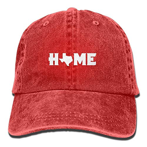 Xukmefat Home Texas State O Retro Washed Dyed Adjustable Baseball Cowboy Cap NN10241