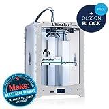 3D DRUCKER–Ultimaker 2Extended–3D Drucker Farbe Grand Volume zu 1Druckkopf ABS/PLA/Nylon–USB