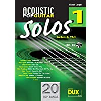 Acoustic Pop Guitar Solos Solf. & Tab Vol.1 CD - Acoustic Solo Tabs