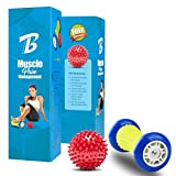 Foot Massager Roller & Spiky Balls-Muscle Roller Stick - Best Reviews Guide