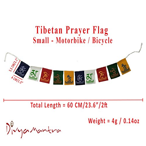Aaradhi Divya Mantra Tibetian Buddhist Prayer Flags For Motorbike